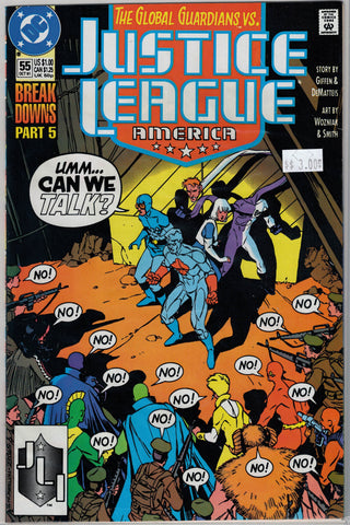 Justice League Issue #  55 DC Comics $3.00