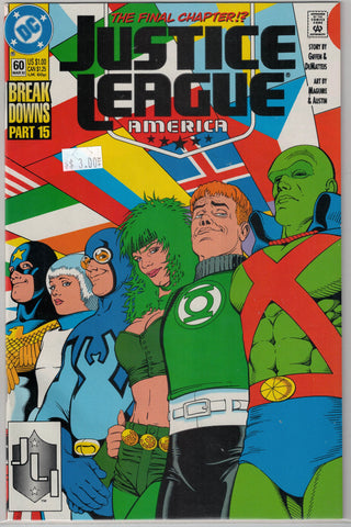 Justice League Issue #  60 DC Comics $3.00