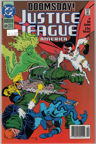 Justice League Issue #  69 DC Comics $5.00