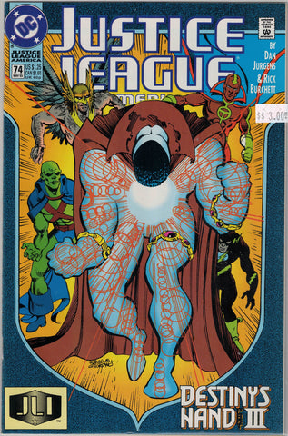 Justice League Issue #  74 DC Comics $3.00