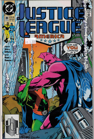 Justice League Issue #  39 DC Comics $3.00