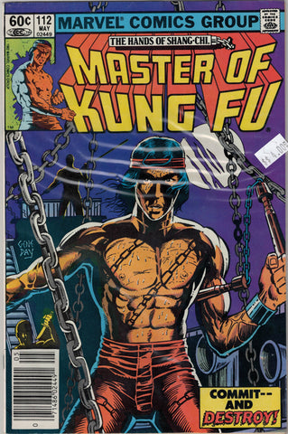 Master of Kung Fu Issue # 112 Marvel Comics  $4.00