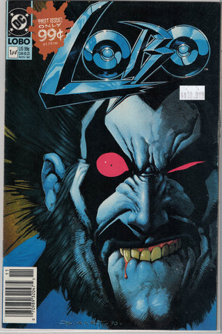 Lobo series 1 Issue #  1 DC Comics $10.00
