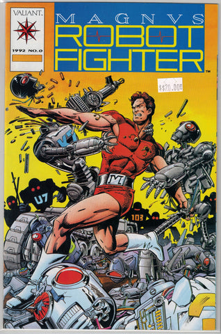 Magnus Robot Fighter Issue # 0 Valiant Comics $20.00
