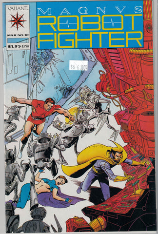 Magnus Robot Fighter Issue # 10 Valiant Comics $6.00
