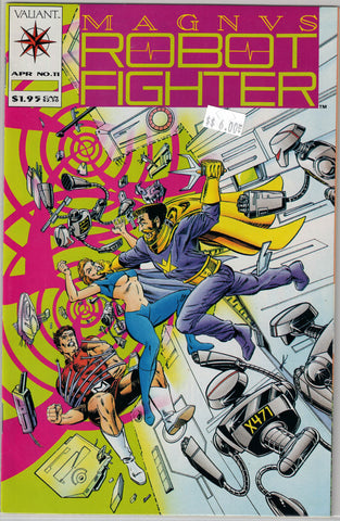 Magnus Robot Fighter Issue # 11 Valiant Comics $6.00