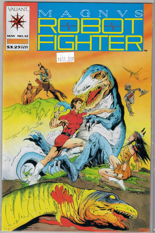 Magnus Robot Fighter Issue # 12 Valiant Comics $30.00
