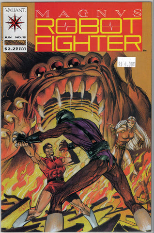 Magnus Robot Fighter Issue # 13 Valiant Comics $4.00