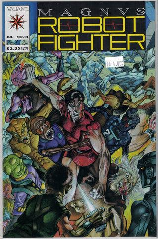 Magnus Robot Fighter Issue # 14 Valiant Comics $4.00