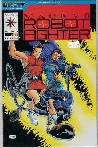 Magnus Robot Fighter Issue # 15 Valiant Comics $4.00