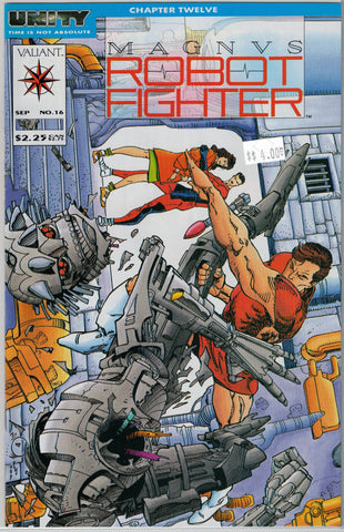 Magnus Robot Fighter Issue # 16 Valiant Comics $4.00