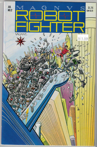 Magnus Robot Fighter Issue #  2 Valiant Comics $8.00