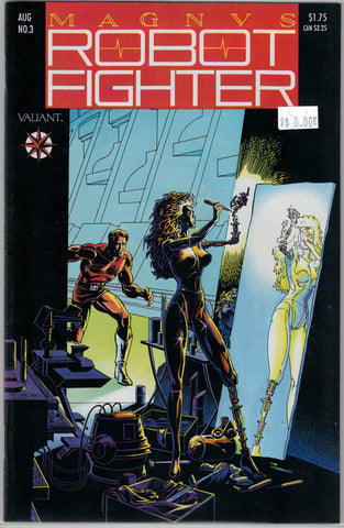 Magnus Robot Fighter Issue #  3 Valiant Comics $8.00