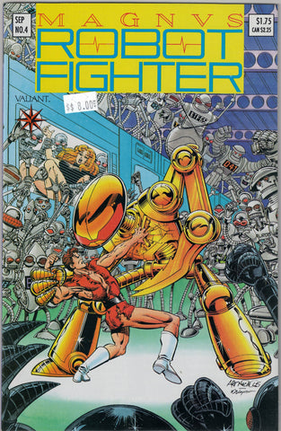 Magnus Robot Fighter Issue #  4 Valiant Comics $8.00