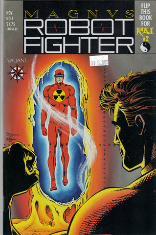 Magnus Robot Fighter Issue #  6 Valiant Comics $8.00