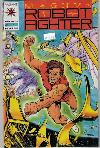 Magnus Robot Fighter Issue #  8 Valiant Comics $8.00