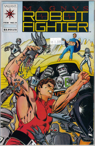Magnus Robot Fighter Issue #  9 Valiant Comics $6.00