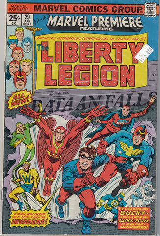 Marvel Premiere...  Issue # 29 Marvel Comics  $6.00