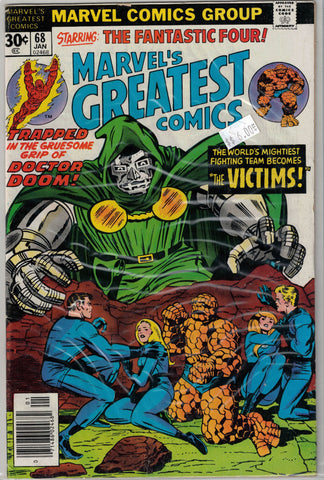 Marvel's Greatest Comics Issue # 68 Marvel Comics $6.00