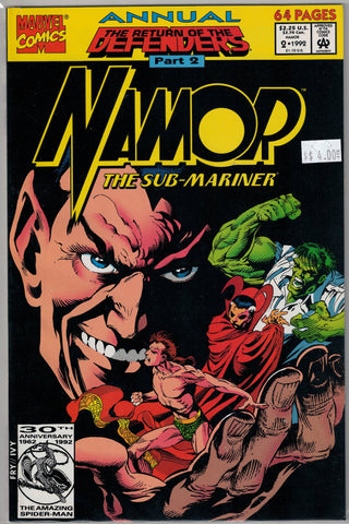 Namor Marvel Comics $4.00 Annual Issue 2