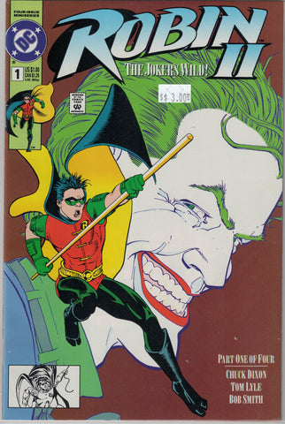 Robin series II The Jokers Wild Issue #  1 DC Comics $3.00