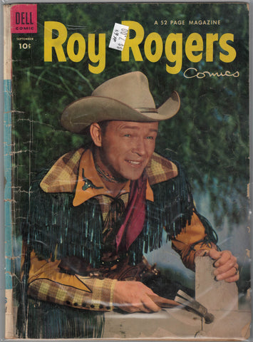 Roy Rogers Issue #69 Dell Comics $7.00