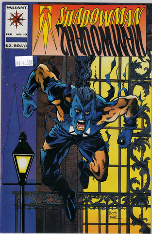 Shadowman Issue # 10 Valiant Comics $4.00
