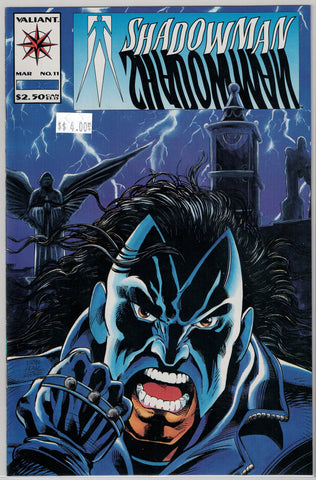 Shadowman Issue # 11 Valiant Comics $4.00