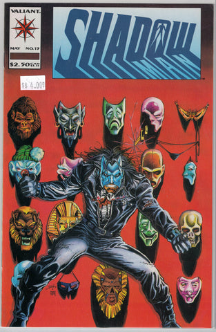 Shadowman Issue # 13 Valiant Comics $4.00