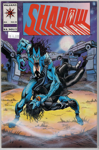 Shadowman Issue # 15 Valiant Comics $4.00