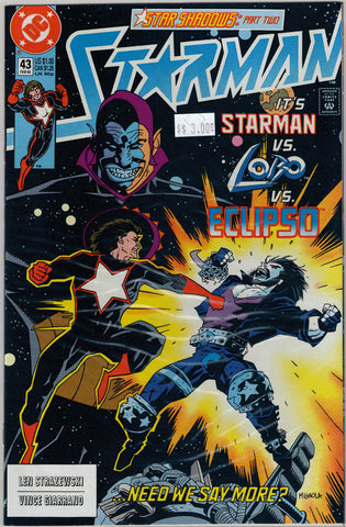Starman Issue # 43 DC Comics $3.00