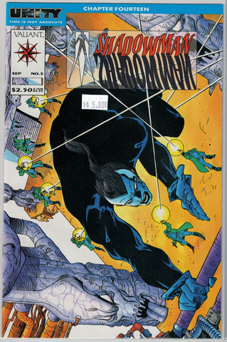 Shadowman Issue #  5 Valiant Comics $5.00