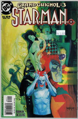 Starman Issue # 64 DC Comics $3.00