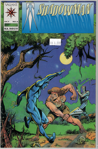 Shadowman Issue #  6 Valiant Comics $4.00