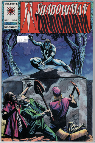 Shadowman Issue #  7 Valiant Comics $4.00