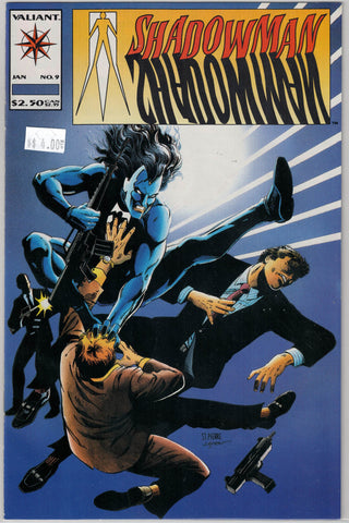 Shadowman Issue #  9 Valiant Comics $4.00