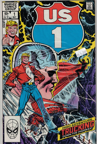 U.S. 1  Issue #   1 Marvel Comics $4.00