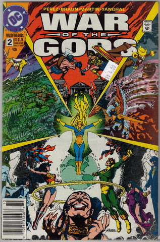 War of the Gods Issue #  2 DC Comics $4.00