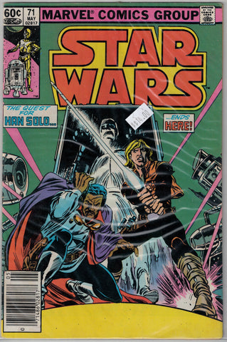 Star Wars Issue # 71 Marvel Comics $14.00