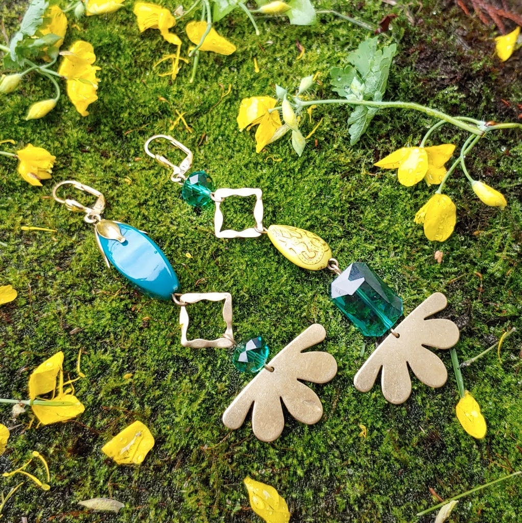Sun Deco Forest Fairy Earrings