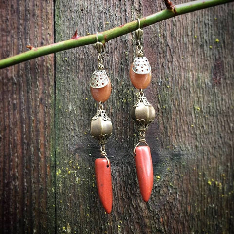 Tribal Dagger and Swagger Earring