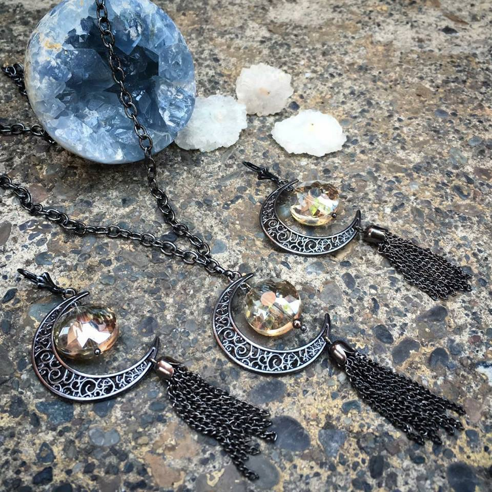MoonShine and Metals Jewelry Set