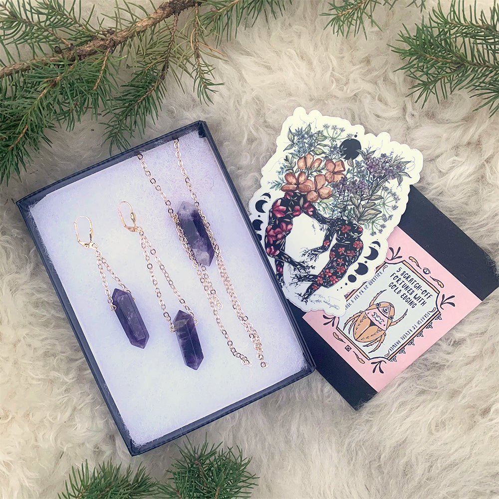 Intuition & Connection Amethyst Gift Set