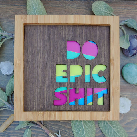 Technicolor Epic Shit Bamboo Art Care Pack