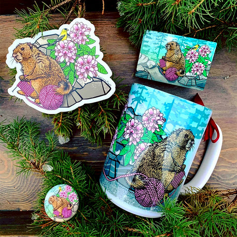 Crafty Marmot Gift Set