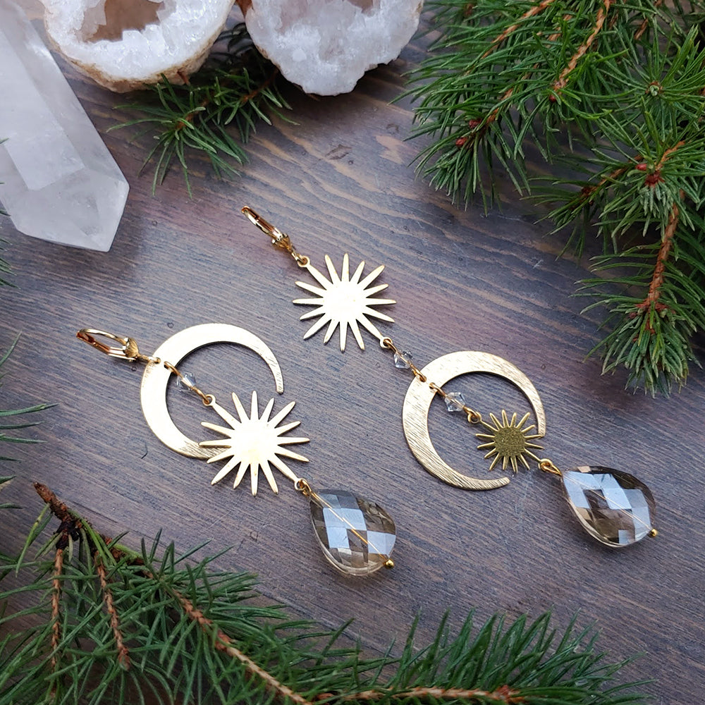 Winter Solstice Stunner Ear Adornments