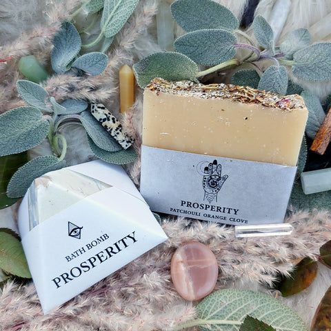 Prosperity & Crystal Bath Set