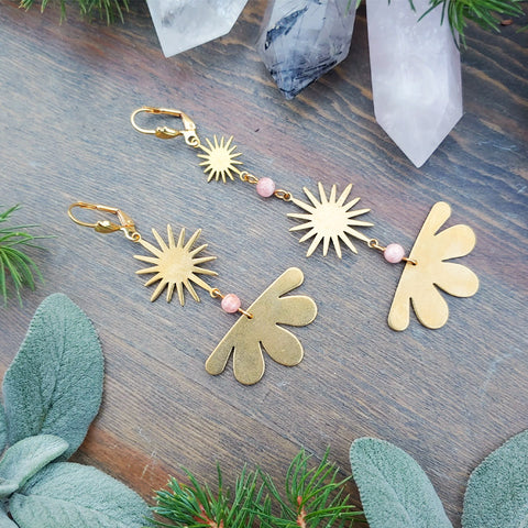 Christmas Star Celestial Alignment Earrings