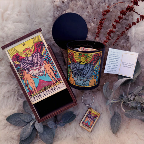 The Lovers Tarot Ritual Set