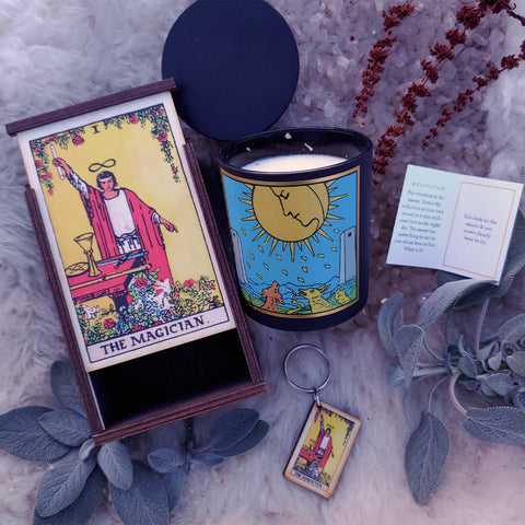 The Magician + The Moon Tarot Ritual Set